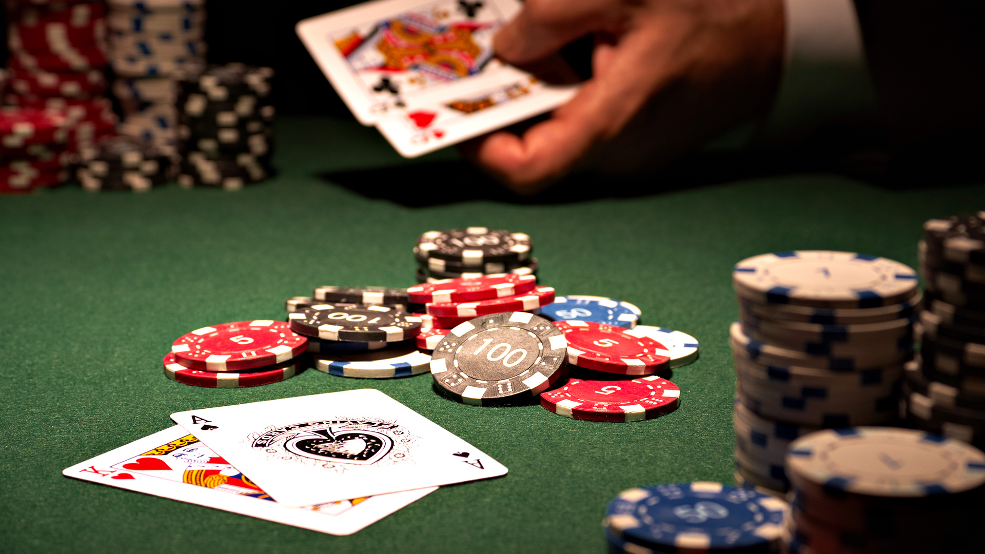 Video Clip Online Poker in Existing