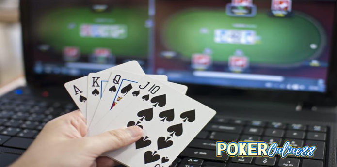 A winning online poker