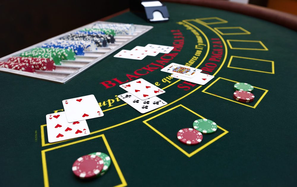The best hand in blackjack is an ace and a card for 10 points